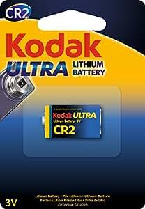 Kodak Batterie 3 V Lithium CR2 Date de péremption 2024