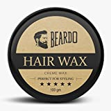 #6: BEARDO HAIR WAX – Perfect For Styling -100g