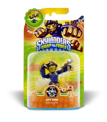 Skylanders Swap Force - Single Character - Swap Force - Spy Rise - Figuren Ps3 Skylanders