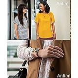 Antimi Fitness Armband, fitness tracker smart bracelet Smartwatch für Android Smartphone und iPhone, Schrittzähler, Push-Message und Anrufer – ID Benachrichtigung (Pink) - 3