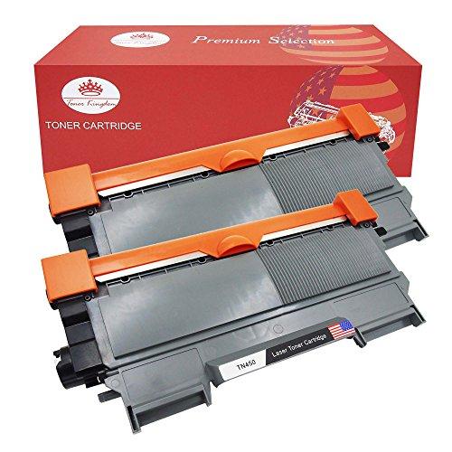 Toner Kingdom 2 Pack Compatible Brother TN2220 TN2010 Cartucho de tóner para Brother HL-2250DN HL-2220 HL-2130 HL-2132 HL-2230 HL-2240 HL-2240D HL-2270 HL-2270DW HL-2275 HL-2280DW MFC-7360N MFC-7460DN MFC-7860DW DCP-7055 DCP-7055W DCP-7060D DCP-7065DN DCP-7070DW FAX-2840 FAX-2940 FAX-2845