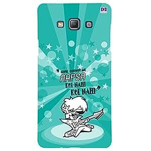 Aapsa Koi Nahi - Mobile Back Case Cover For Samsung Galaxy A7 (2015)