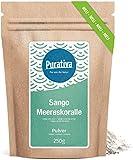 Sango Meereskoralle Pulver hochdosiert (250 Gramm) - Einführungspreis - Natrülich hoher Kalzium Anteil - 100% FREI von allen Zusätzen - Manufakturabfüllung