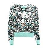 adidas J Zoo Hoodie Sweatshirt, Mädchen, Mehrfarbig (MULTCO/MENCLA/Blanco)