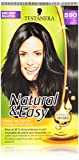 Testanera Natural & Easy, Crema Colorante Intensa e Naturale, 590 Nero Naturale - 1 Confezione