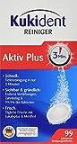 Kukident Aktiv Plus Express, Pack de 3 x 99 Tabletas