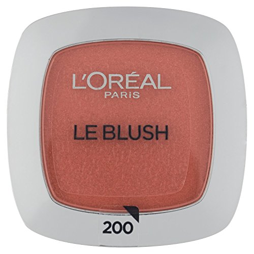 L'Oréal Paris Rouge Perfect Match Le Blush, 200 Golden Amber/Dezent-matter Blush für einen frischen Alltags-Teint für alle Hauttypen/1 x 5 g