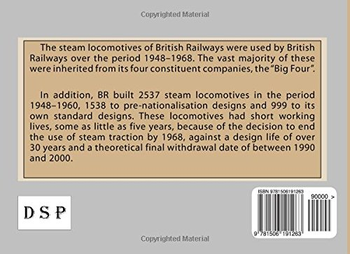 Trains of the World # 10: British Steam in the Sixties: Volume 10