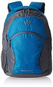 Wildcraft Fabric 21 Ltrs Blue Laptop Bag  Size -46*33*15