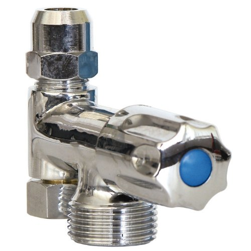 Geräte-Ventil Eckfix   Zusatzventil   Gerätezusatzventil   Eckventil   Chrom
