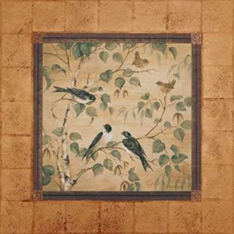 Feeling at home, Stampa artistica x cornice - quadro, fine art print, Outdoor Aviary I cm 94x94