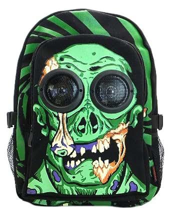 Jawbreaker zombie speaker sac à dos noir/vert)