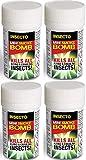 4x pulgas Bomba Nebulizadores - MASCOTA PERRO GATO Pulgas Bomba de humo pulgas Casa sala de fumers