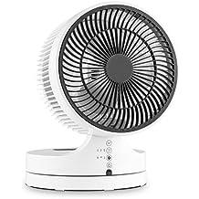 Klarstein Touchstream WH Ventilatore a Piantana (35 Watt, 3 velocitá, timer regolabile, telecomando) bianco