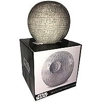 Star Wars 1012346510Hucha Estrella de la Muerte, acero inoxidable, color blanco, 9x 4x 4cm
