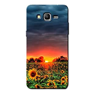 MORNING FLOWERS BACK COVER FOR SAMSUNG ON5