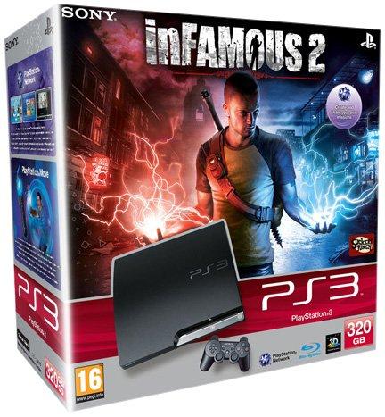 Foto PlayStation 3 320GB + inFAMOUS 2 [Bundle]
