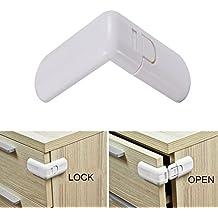 seguryy – cierre de seguridad para puerta nevera armario, para niños, 6,5