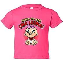 Camiseta niño nacida para ser una Leona Athletic Bilbao fútbol
