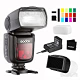 Godox V860II-S TTL Camera Flash 2.4G 1/8000s HSS GN60 with Lithium Battery External