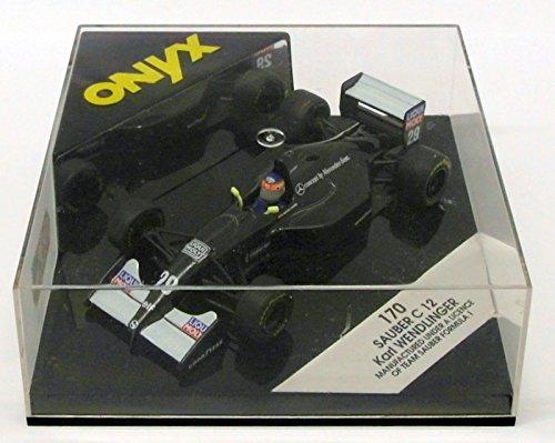 Onyx 1/43 Scale Diecast F1 Model Car 170 - Sauber C 12 - K.Wendlinger (1 12 Diecast Scale)