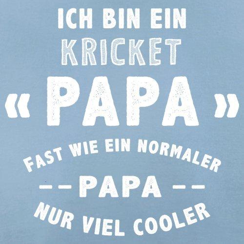 Ich bin ein Kricket Papa - Herren T-Shirt - 13 Farben Himmelblau