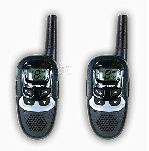 Funkgerät Walkie-Talkie Sprechfunk-Set mit Clip Twintalker Funksysteme Funk-Sprechgeräte lizenzfrei (Reichweite bis zu ca. 6 km, 8 Kanäle + Frequenz: 446 MHz)