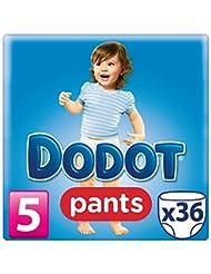 Dodot Pants - Pañales, talla 5, 12-18 kg, 36 unidades