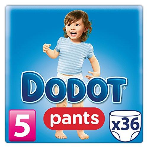 Dodot Pants - Pack 36 pañales, talla 5, 12-18 kg
