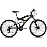 "KCP 26"" MOUNTAIN BIKE ENERGY ALLOY 21 speed SHIMANO UNISEX black - (26 inch)"