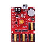 huidu hd-u63 U Disk Mini LED Display Controller P10 LED-Display Steuerung Karte für Single Color Programmierbare Scrollen Werbung Display