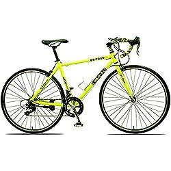 JH Estudiante De Bicicletas, Aleación De Aluminio Curvo Manillar Bicicleta De Carretera 14/21/30 Velocidad 700C Hombres Ruta De Freno De Aleación De Aluminio Bicicleta De Carretera,2,30speed