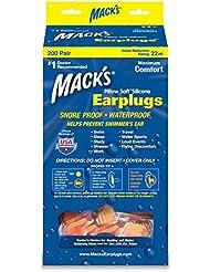 Macks - - Oreiller Soft - Hot Orange - 2 Paire