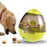 Eliteguard plastique Tumbler distributeur d'aliments pour animaux de compagnie Ball Smart Dog Toy Feeder (Green)