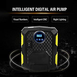 FidgetGear Hott Digital Tire Inflator AUPERTO Electric DC 12 Vt Car Portable Air Compressor