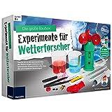 Experimentier-Kasten für Wetterforscher Kristalle züchten, Wolken herstellen, Regen selber machen uvm. • Meteorologie Lern Spiel Set Kinder Box Set