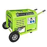 BULTO Stromerzeuger 10 kW/Tank 30 l/Laufleistung 6-7 Std. / 2 x 230 V