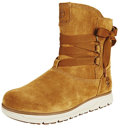 Timberland Leighland Pull on Shoes Ladies WP Trapper Tan Größe 42 2017 Stiefel (Lady Trapper)