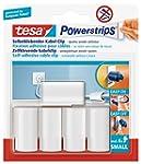 tesa Powerstrips Kabel Clip, weiß, 5...