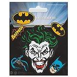 Pyramid International Batman Stickers muraux en vinyle, papier, Multicolore, 10x 12.5x 1.3cm