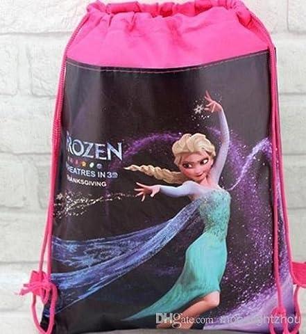 Nouvelle princesse Elsa de La Reine des neiges Anna Sac à cordons en polyéthylène-Sac de piscine