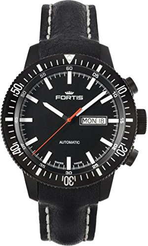 Fortis B-42 Monolith 647.18.31.L Automatic Mens Watch PVD-plated