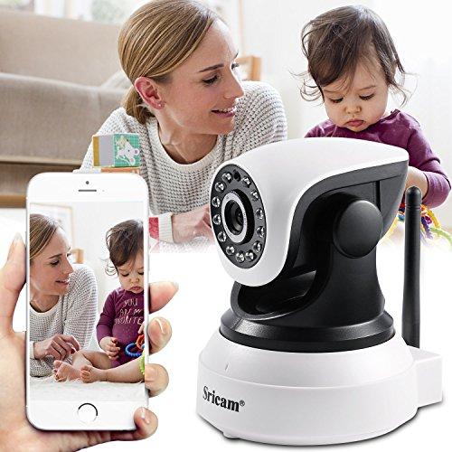 App Cam (Wireless Überwachungskamera Innen, Migvela HD IP Kamera Indoor, Wlan Sicherheitskamera für Heimsicherheit, Wifi IP cam mit Baby Monitor Video - Deutscher App + 355°/90° Schwenkbar + Infrarot Nachtsicht + Bewegungserkennung + Aufnahme)