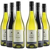 Le Bon Vin French Saint Marc Wine Selection Mixed Case Non Vintage 75 cl (Case of 6)