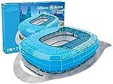 Nanostad Giochi Preziosi 70022121 - 3D Stadion-Puzzle Alianz Arena Münch, blau