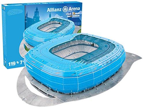 giochi-preziosi-70022121-rompecabezas-3d-estadio-allianz-arena-munch-azul