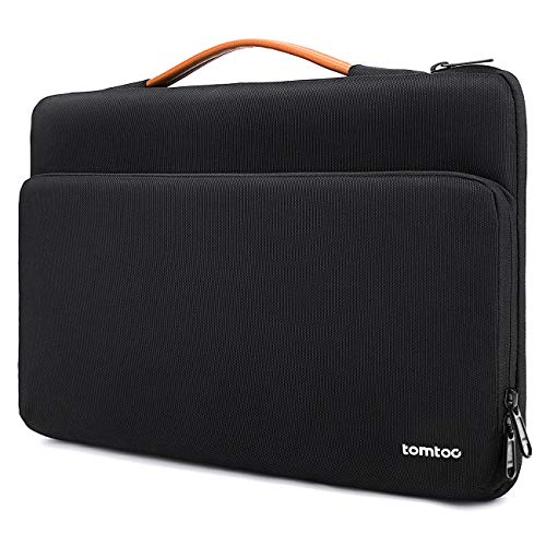 "tomtoc 14 Zoll Laptop Tasche Hülle für 15 Zoll MacBook Pro, 15"" Surface Laptop 3, 14\"" Thinkpad X1 Carbon, Acer Lenovo HP Chromebook Laptoptasche Notebook Sleeve wasserdicht Schutzhülle Schwarz"