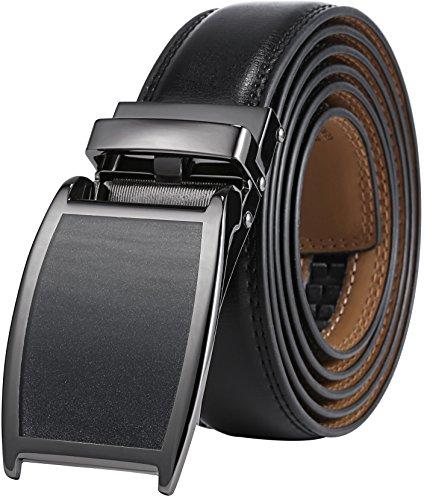 marino-avenue-cintura-uomo-gunblack-silver-black-matte-buckle-w-black-leather-medium