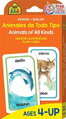 Animales de todo tipo/Animals Of All Kinds: Espanol - English por School Zone