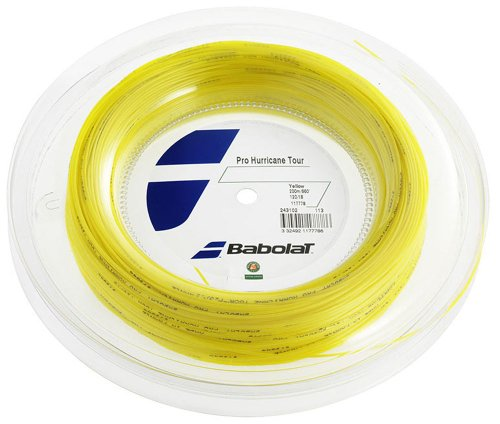 Babolat Tennissaite Pro Hurricane Tour 200m, gelb, 1.25 mm, 243102_113